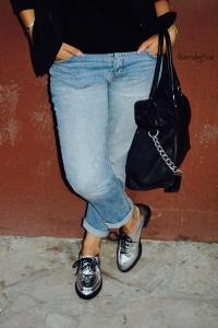 3 maneras de usar boyfriend jeans